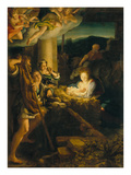 Holy Night Giclee Print by Antonio Allegri Da Correggio