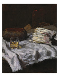 Still Life with Asparagus, about 1885/90 Giclee Print by Carl Schuch