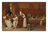 Concert in the Cloister Giclee Print by Eduard Grutzner