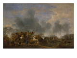 The Battle of Noerdlingen Giclee Print by Philips Wouwerman