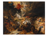 The Defeat of Sennacherib Giclee Print by Peter Paul Rubens