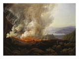Vesuv Volcanic Eruption, 1826 Posters by Johan Christian Clausen Dahl