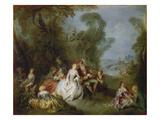 Die Freuden des Landlebens, um 1735 Posters by Jean-Baptiste Pater