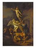 Auferstehung Christi, 1719 Giclee Print by Adriaan van der Werff
