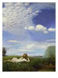 The Lark, 1882/83 Giclée-Druck von Paul von Szinyei-Merse