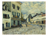 Market Square in Marly, 1876 Giclee Print by Alfred Sisley