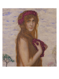 Springtime, about 1912 Giclee Print by Franz von Stuck