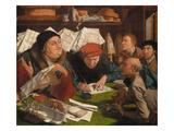 In the Solicitor's Office, 1542 Giclée-Druck von Marinus Van Reymerswaele