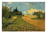 Summer Landscape (Cornfields at Argenteuil), 1873 Prints by Alfred Sisley