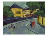 Dresden, Friedrichstadt, 1909 Giclee Print by Ernst Ludwig Kirchner