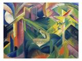 Reh Im Klostergarten, 1912 Impression giclée par Franz Marc
