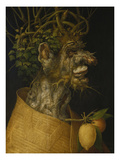 Winter, 1563 Prints by Giuseppe Arcimboldo