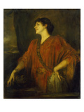 The Wife of Franz Von Stuck as Salome, 1894 Giclee Print by Franz Seraph von Lenbach