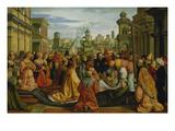 Die Geschichte Der Hl.Helena (Auffindung des Kreuzes Christi) Giclee Print by Barthel Beham