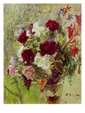 Bouquet of Flowers, 1896 Prints by Max Slevogt