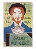 Von Hermann Paul (1864-1940) Salon Des Cent 1895 Giclee Print by Hermann Paul
