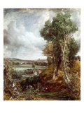 Dedham Vale Giclee Print by John Constable