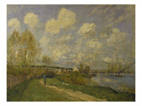 Summer at Bougival, 1876 Prints by Alfred Sisley
