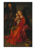 The Holy Family Prints by Martin Schongauer