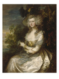 Bildnis Mrs.Thomas Hibbert, 1786 Giclee Print by Thomas Gainsborough