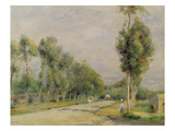 Rural Road Near Louvecienne, 1895 Giclee Print by Pierre-Auguste Renoir