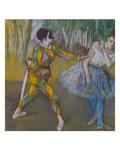 Harlekin Und Columbine, um 1886 Posters by Edgar Degas