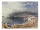 Santorini, 1845 Gicl&#233;e-Druck von Carl Rottmann