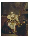 La Polenta, 1740 Posters by Pietro Longhi