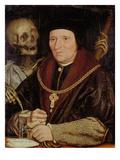 Sir Bryan Tuke (Postmeister Heinrichs Viii.) Und Der Tod Giclee Print by Hans Holbein the Younger