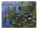 Water Lilies (Nympheas), 1918/1921 Giclee Print by Claude Monet