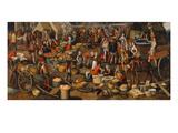 Marktszene. Fragment Einer Ecce-Homo- Darstellung, um 1550 Giclee Print by Pieter Aertsen