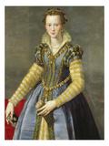 Maria De Medici (1540-1557) Giclee Print by Alessandro Allori