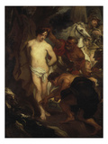 Martyrdom of St. Sebastian Poster by Anthonis van Dyck