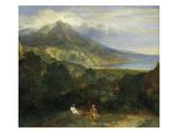 Italian Coastal Landscape, about 1670 Prints by Jean-François Millet