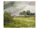 Rainy Landscape Giclee Print by Wilhelm Busch