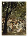 A Munich Beer Garden, 1883/84 Giclée-Druck von Max Liebermann
