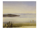 Starnberger See Giclee Print by Christian Ernst Bernhard Morgenstern