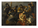 The Crowning with Thorns Giclee Print by Valentin Boullogne