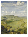 Taunus Landscape (View of a Taunus Valley), 1890 Giclee Print by Hans Thoma