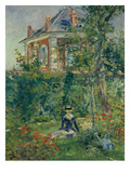 A Garden Nook at Bellevue, 1880 Poster by Édouard Manet