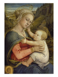 Mary and Child, about 1465 Gicle-tryk af Fra Filippo Lippi