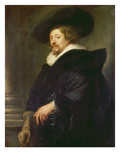 Self Portrait Giclée-Druck von Peter Paul Rubens