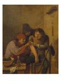 Das Gefuehl, um 1635 Giclee Print by Adriaen Brouwer