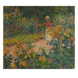 Im Garten, 1895 Giclee Print by Claude Monet
