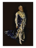 Prince Regent Luitpold of Bavaria with Ermine Cape, 1908 Prints by Max Slevogt