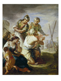 St. Andrew at the Place of Execution Giclee Print by Martino Altomonte