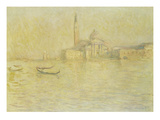 Venice, San Giorgio Maggiore Giclee Print by Claude Monet