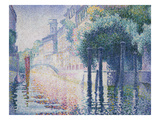 Canal Scene, Venice, ca. 1904 Posters by Henri Edmond Cross