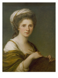 Self Portrait, 1784 Print by Angelica Kauffmann
