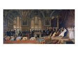Empfang Siamesischer Gesandter Im Schloss Fontainebleau, 1861/1864 Prints by Jean Leon Gerome